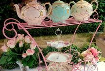 Tea carts / Fancy, reuse or renew we have all types of tea carts ideas to use for your tea party!