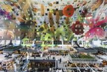 MVRDV's Market Hall / The Market Hall is a sustainable combination of food, leisure, living and parking, fully integrated to celebrate and enhance the synergetic possibilities of the different functions. It has already received more than 5 million visitors since it was opened in October 2014 by Queen Maxima of the Netherlands. Here you can find photo tributes to the Market Hall phenomenon.