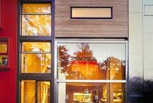 MVRDV Facades / Sexy facades, smooth facades, cool facades, minimalist facades. We've done it all, and you can see some samples on here on our facade board.