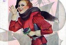 La vie parisienne / La Vie Parisienne: était un hebdomadaire français fondé à Paris en 1863 qui a été publié sans interruption jusqu'en 1970. Il était populaire au début du 20e siècle. A l''origine, il  couvevrait les romans, les sports, le théâtre, la musique et les arts. En 1905, le magazine a changé de mains et le nouveau rédacteur en chef Charles Saglio  a changé son format en fonction du lecteur moderne. Il a vite évolué dans une publication érotique légèrement risqué.