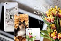 Zaprojektuj własne etui / Ciekawe inspiracje i pomysły na to, jak można spersonalizować własny case na telefon:)