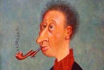 Albert Dubout / Albert Dubout (1905-1976), dessinateur hors normes, a marqué plusieurs générations par ses dessins humoristiques : ses foules, ses chats, sa « grosse bonne-femme et son petit bonhomme »… Édité par la famille de l'artiste pour le centenaire de sa naissance, ce site officiel est un hommage à son œuvre de dessinateur, d'illustrateur (Cervantès, Molière, Pagnol…), d'affichiste (pour le cinéma et la publicité) et à son travail méconnu de peintre