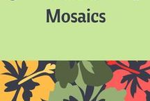 Tutorials - Mosaics / This board has been created to help jewelry designers who have an interest in learning how to create mosaics; or, simply for inspiration. Tutorials provided by various sources.