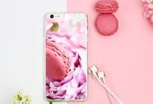 Peonies session with custom case