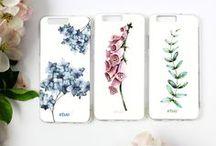 Botanic Case / Kolekcja 12 stylowych etui z motywem delikatnych roślin i kwiatów. Kwiaty bawełny, paprocie, polne kwiaty na Twoim telefonie