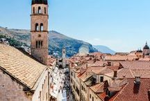 Croatia Travel / Travel guides, tips and inspiration for visiting Croatia   #Croatia #Split #Hvar #Zagreb #Dubrovnik