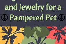 Dog Leads and Collars / This board has been created to help jewelry designers, dog leash makers and dog collar makers take inspiration for their own special pampered pet creation.