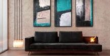 My Abstract Paintings by Edit Voros