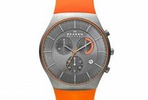 skagen mens @ penmans / a selection of our range of skagen gents watches. its all about the flashes of orange this season...