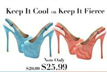 Shoe Obsession / Every lady loves a sexy pair of shoes! Choose yours today!