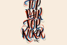 Typography / Cool hand writing & fonts