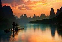 """Destinos CHINA e ÁSIA CENTRAL / O melhor da China, Mongólia, Tibete e demais 5 países terminados em """"ão"""" através de suas paisagens, monumentos, vilas e cidades"""