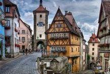 Destinos ALEMANHA / O melhor da Alemanha através de de suas paisagens, monumentos,  vilas, monumentos e cidades
