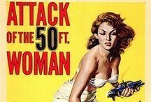 Posters CINEMA CULT / Filmes B, Terror e Sci-fi em seu apogeu