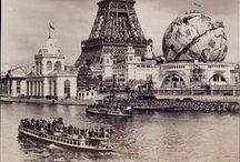 VINTAGE PARIS / Uma viagem no tempo pela Memória de Paris através de fotos, posters e pinturas.
