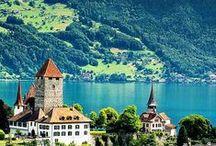 Destinos AUSTRIA & SUIÇA / O melhor da Austria e Suiça e região dos Alpes através de de suas paisagens, vilas, monumentos e cidades