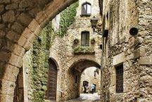 Destinos  ESPANHA / O melhor da Espanha através de  suas paisagens, vilas, monumentos e cidades