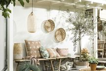 Small Backyard / Ideas to fill the smaller backyard with plants, and not have to alter the sprinkler system to do so.