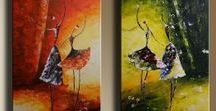 Ballet Dancers Paintings
