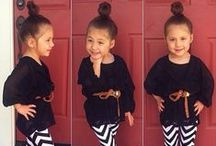 POSH Munchkin Style / Check out our favorite POSH kids outfits and don't forget to check out POSH Mommy Jewelry to compliment any of these outfits!