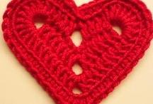 Crochet: hearts
