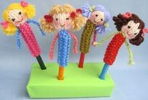 Knitting: dolls