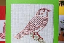 Embroidery: blackwork