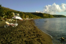 Beaches in Dominica / While Dominica is not known for fine white sand beaches, our volcanic nature has graced us with plenty of dark sandy beaches as well as unique black sand beaches.