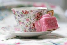 Welcome to the tea party! / A collection of tea party related items.