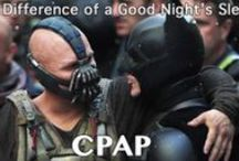 CPAP Humor / Light-hearted jokes and comics about CPAP machines, masks & equipment.