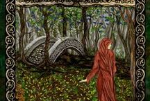 Short Stories / I've published many short stories and illustrations in fantasy magazines, and a compilation called Wizards, Woods and Gods. This is a collection of illustrations and links to informative blog posts, excerpts and stories posted online. / by F.T. McKinstry