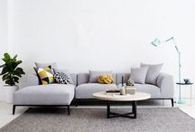 sofas, lounges and couches / Modern and contemporary Australian designer couches, lounges and sofas. Designed in natural Italian linen, fabric and leather. Ideal for the interior designer and architectural home.