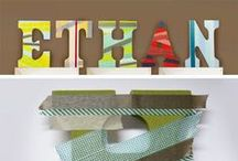How to - tips and tricks / Techniques and hints for decorating wooden and MDF letters using a variety of craft techniques
