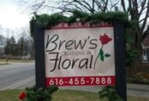 Around the  flower shop / Daily operations in our world / by Brew's Creations In Floral