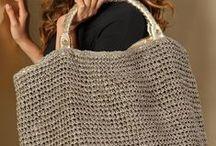 Crochet bolsas