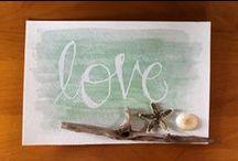 #bellanoellehandmade / A Board Of My Own Handmade Typography, Calligraphy, Or Painted Artwork. #bellanoellehandmade