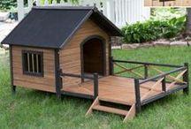 DOG houses / dog house ideas