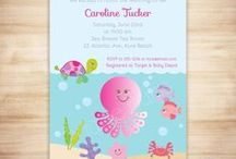 Under the Sea Baby Shower, Pink / Pink Under the Sea baby shower theme. DIY, planning, decor, fun food and more!