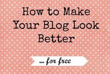 Blogging / Blog design and tutorials / by Mary Smither