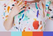 INSPIRAÇÃO DO DIA / Uma foto linda com sua cartela de cores em forma de palete para nos inspirar a misturar tons.