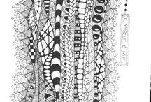 Zentangles / doodles