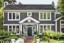 Homes from the outside. / Architecture. Backyards. Curb appeal.  / by Annie Gustafson - Edina Realty