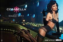 """Cosabella's exclusive collection inspired by the STARZ original series, """"Magic City"""" / Cosabella and Starz are proud to announce a limited edition capsule of sexy, sumptuous lingerie inspired by the STARZ original series, """"Magic City"""". The Cosabella exclusive collection is a nod to 1950's fashion, taking key design elements from the show's infamous Miami setting during an era of gambling, drugs, money, sex and drop-dead glamour.  / by Cosabella"""