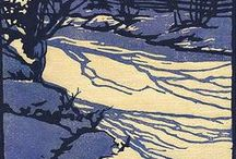 Printmaking / All kinds of printmaking especially woodcuts