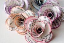 Paper/Book Art / by Rose Loera