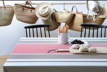 Habillez vos tables pour l'été 2015 / Entre couleurs sablées et teintes chaudes, lin et coton, vous trouverez LE modèle fait pour vous!