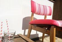 """Le Sur-Mesure / La Maison Jean-Vier met à votre disposition son service """"SUR MESURE"""" et vous propose une large sélection de tissus ainsi qu'une gamme d'unis en lin 100% et l'ensemble de ses tissus au mètre.  Nappes, rideaux, stores bateau, coussins, chemins de lit et édredons peuvent être réalisés sur mesure ou dans des tailles standards « prêt à poser ». Notre service tapissier vous accompagne également pour habiller de rayures Jean-Vier vos sièges et assises."""