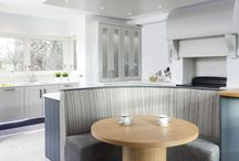 New Lease of Life / An ideal kitchen to share a meal after a long day or enjoy a relaxed coffee with friends.