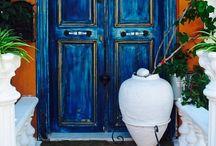 The Doorway / Beautiful doors and entryways! / by Cheryl Harris