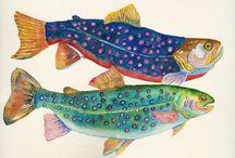 Fish art / Marine art